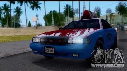 Taxi Vapid Stanier II from GTA 4 para GTA San Andreas