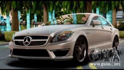 Mercedes-Benz CLS 63 AMG 2010 para GTA San Andreas