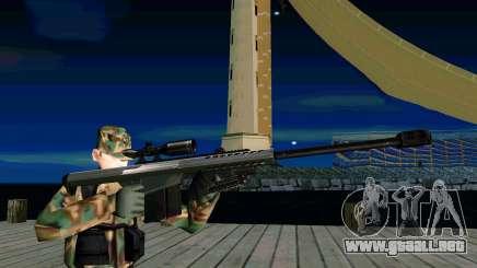 Barret M107 para GTA San Andreas