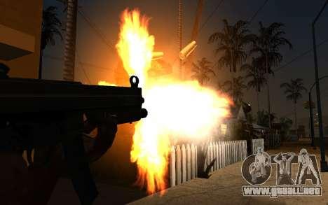 IMFX Gunflash para GTA San Andreas segunda pantalla