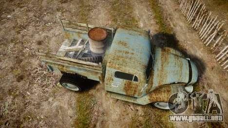 GTA V Bravado Rat-Loader rust para GTA 4 visión correcta