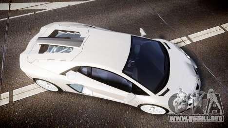 Lamborghini Aventador Hamann Limited 2014 [EPM] para GTA 4 visión correcta