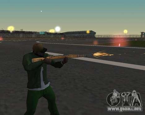 Hermosas tomas de armas para GTA San Andreas