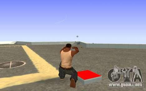Glock-18 agua CS:GO para GTA San Andreas tercera pantalla