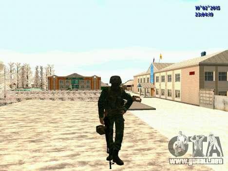 Spetsnaz MVD para GTA San Andreas segunda pantalla