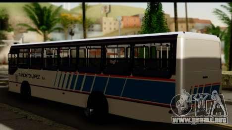 Marcopolo Torino GV Linea 29 Panchito Lopez para GTA San Andreas left