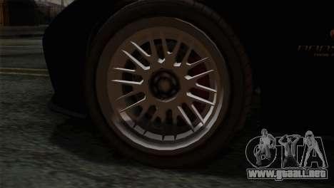 GTA 5 Bravado Banshee IVF para GTA San Andreas vista posterior izquierda