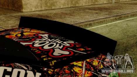 NASCAR Chevy SS 2013 para la visión correcta GTA San Andreas