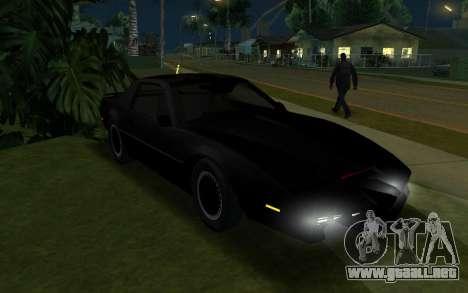 K.i.T.T. 2000 para GTA San Andreas left
