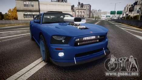 Bravado Buffalo Street Tuner para GTA 4