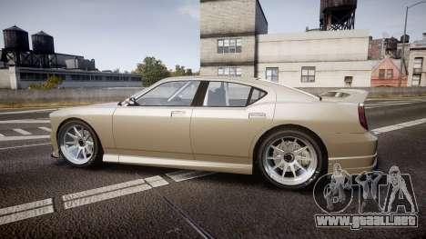 Bravado Buffalo Supercharged 2015 para GTA 4 left