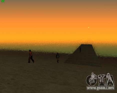 ENB JP para GTA San Andreas segunda pantalla