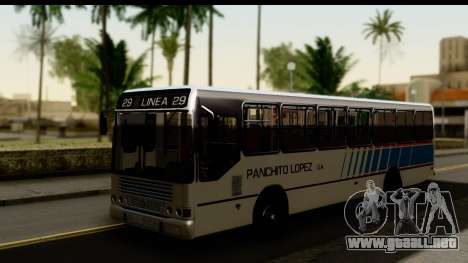 Marcopolo Torino GV Linea 29 Panchito Lopez para GTA San Andreas
