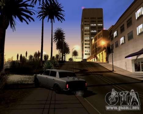 Graphic Update ENB Series para GTA San Andreas segunda pantalla