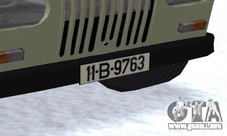 Aro 244 para vista lateral GTA San Andreas