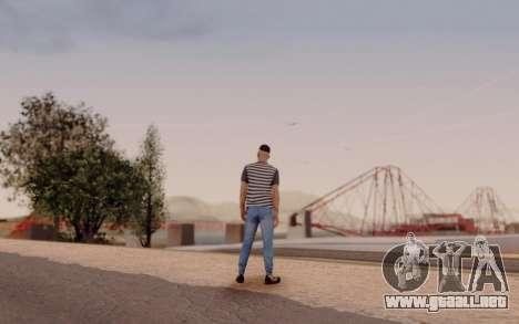 Warm Colors ENB para GTA San Andreas quinta pantalla
