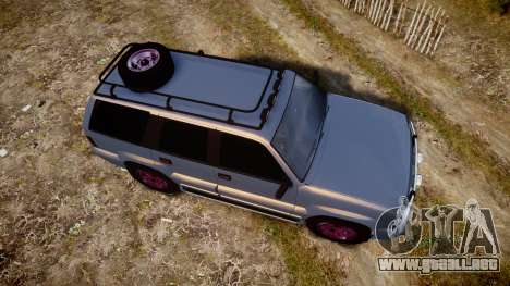 Albany Cavalcade Offroad 4X4 para GTA 4 visión correcta