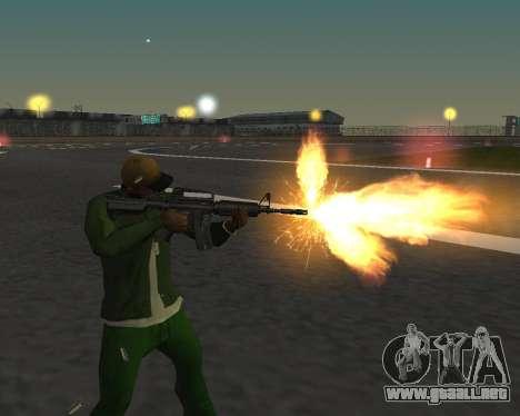 Hermosas tomas de armas para GTA San Andreas sexta pantalla