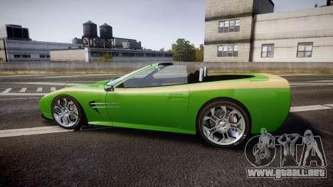 Invetero Coquette Roadster para GTA 4 left