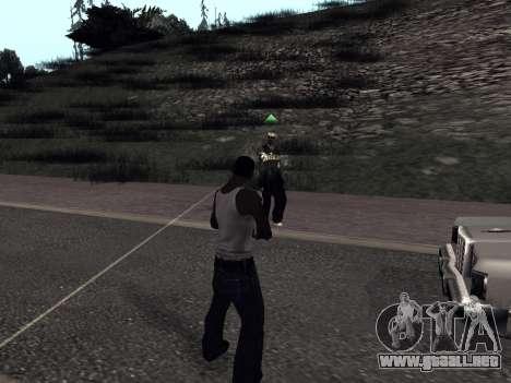 ColorMod by Sorel para GTA San Andreas sucesivamente de pantalla