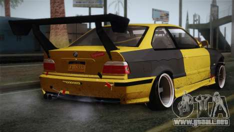 BMW E36 Drift para GTA San Andreas left