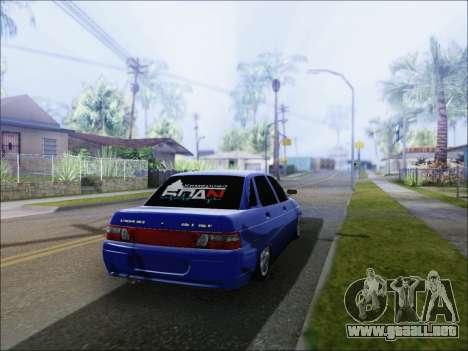 De los FLOREROS 2110 БПАN de Kemerovo para GTA San Andreas vista posterior izquierda