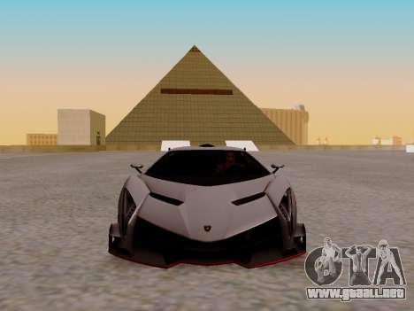 Lamborghini Veneno para GTA San Andreas left