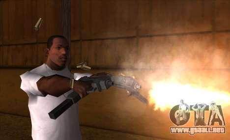 IMFX Gunflash para GTA San Andreas tercera pantalla