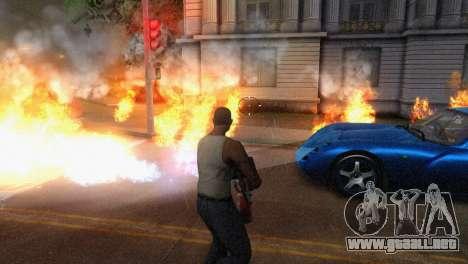 ENB Version 1.5.1 para GTA San Andreas novena de pantalla