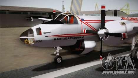 P2V-7 Lockheed Neptune JMSDF para la visión correcta GTA San Andreas