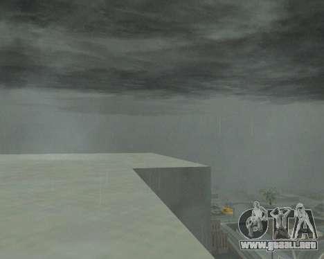 Nuevo nubes y Colormod para GTA San Andreas tercera pantalla