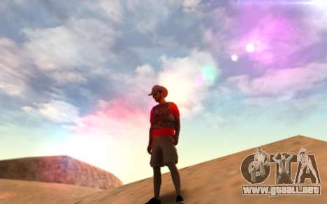 Warm Colors ENB para GTA San Andreas segunda pantalla