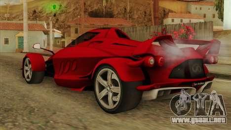 Tramontana XTR para GTA San Andreas left