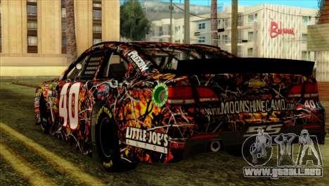 NASCAR Chevy SS 2013 para GTA San Andreas left