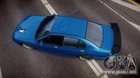 Bravado Feroci Los Santos Customs Edition para GTA 4 visión correcta