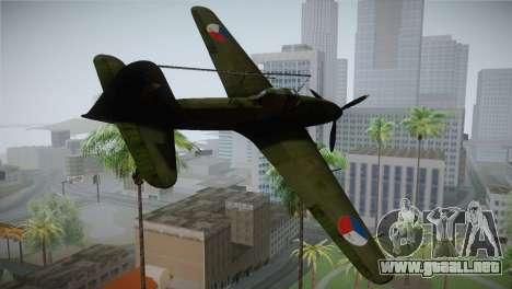 ИЛ-10 de la Fuerza Aérea checa para GTA San Andreas left