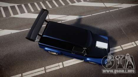 Slamvan Dragger para GTA 4 visión correcta