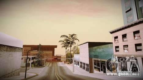 The not China ENB v2.1 Final para GTA San Andreas sucesivamente de pantalla