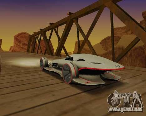 Mercedes-Benz Silver Arrows para visión interna GTA San Andreas