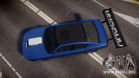Bravado Buffalo Street Tuner para GTA 4 visión correcta