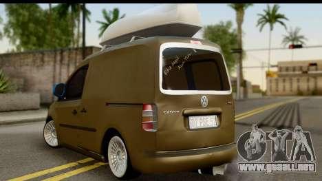 Volkswagen Caddy para GTA San Andreas left