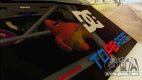 Elegy Undercover para las ruedas de GTA San Andreas