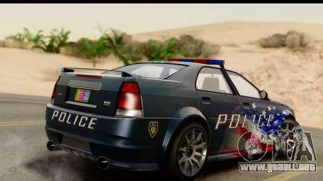 EFLC TBoGT Albany Police Stinger IVF para GTA San Andreas left
