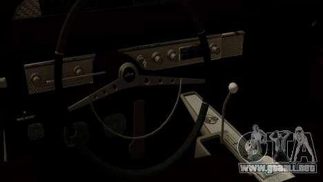 Mazda Pickup Full Sport para visión interna GTA San Andreas