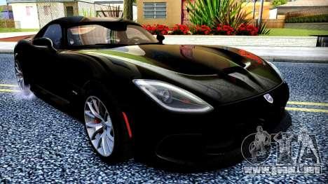 ENB Cal HD por medio de la PC para GTA San Andreas