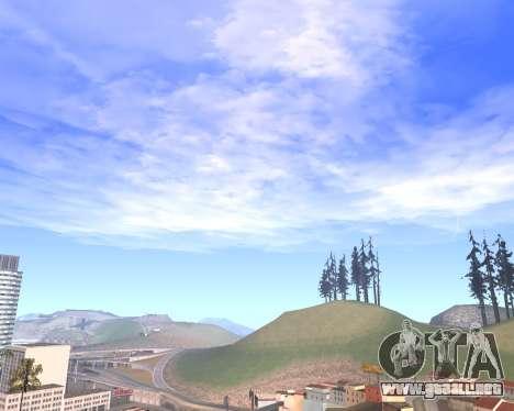 Nuevo nubes y Colormod para GTA San Andreas