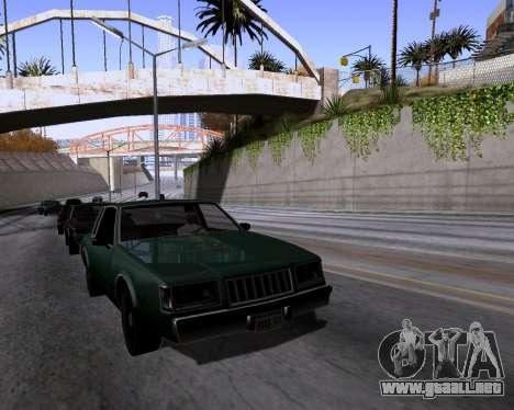 Graphic Update ENB Series para GTA San Andreas quinta pantalla