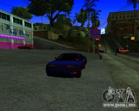 Warm California ENB para GTA San Andreas segunda pantalla