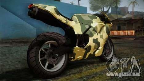 GTA 5 Bati Green para GTA San Andreas left