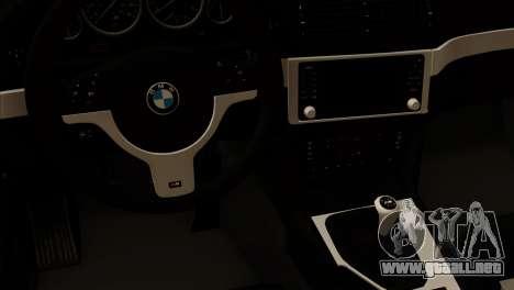 BMW 540 E39 Accuair para la visión correcta GTA San Andreas